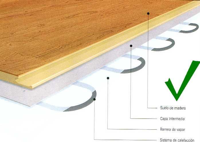 para nuestra familia madera suelo radiante On tarima flotante para suelo radiante